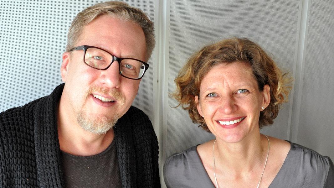 Jan Malte Andresen und Eva Strehler