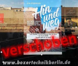Vortrag am 16.10. in Berlin verschoben