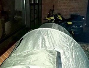 Venedig-Tour 1:  Zeitreise mit Zelt